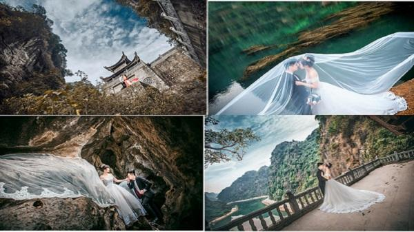 """Những điểm chụp ảnh cưới """"không góc chết"""" trên động Am Tiên - Ninh Bình"""