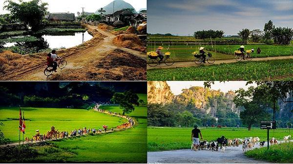 Những hình ảnh bình dị về cố đô Ninh Bình khiến bao người thổn thức