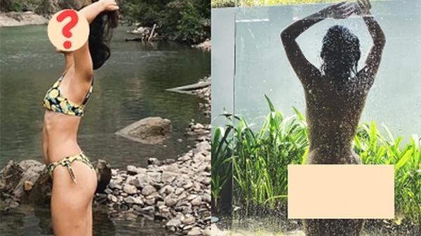 """Nữ ca sĩ Việt khoe ảnh nude 100% tắm tiên lên MXH, khiến cả dàn sao Vbiz phải """"chấn động"""""""