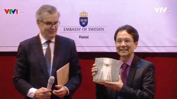 Nhà thơ người Ninh Bình xuất sắc nhận giải thưởng Cikada của Thụy Điển