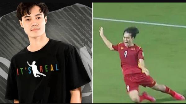"""Chủ tịch Văn Toàn dạy bạn """"làm giàu"""": Bị fan Malaysia công kích, chớp cơ hội ra luôn mẫu áo in hình cú ngã penalty"""
