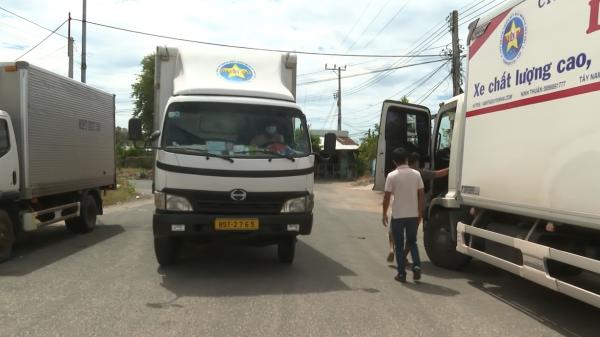 Ninh Thuận: Cấp thẻ nhận diện ưu tiên cho vận chuyển hàng hóa thiết yếu