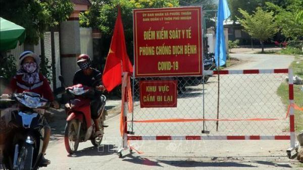 Ninh Thuận đón người dân từ vùng dịch về