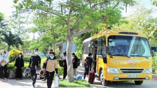 Ninh Thuận chuẩn bị đón người dân bị kẹt tại TP.HCM về quê