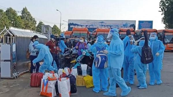 Nhiều công dân các tỉnh ở Đồng Nai tiếp tục xin được trở về quê