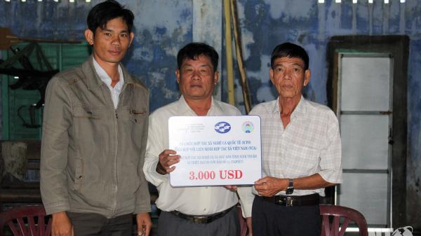 Ninh Thuận: Hỗ trợ 3.000 USD cho Hợp tác xã Ngư nghiệp Vĩnh Hy