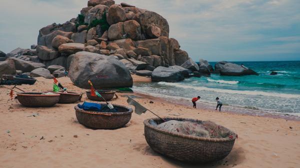 Vẻ đẹp hoang sơ, bình dị ở Mũi Dinh Ninh Thuận