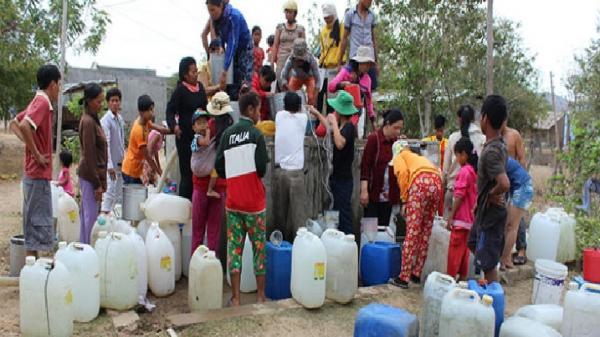 Mùa hè đến cùng nỗi lo thiếu nước