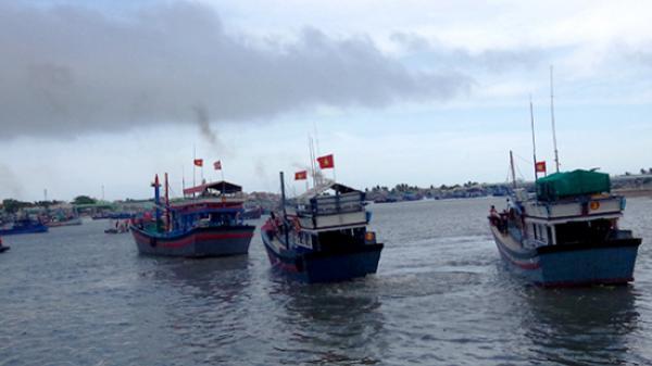 Huyện Thuận Nam, tỉnh Ninh Thuận: Thực hành huy động nhân lực, tàu, thuyền tham gia bảo vệ chủ quyền, an ninh biên giới biển