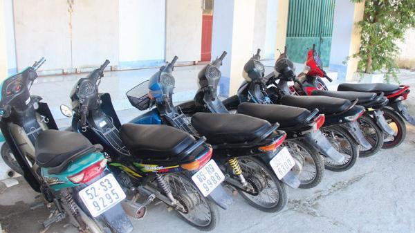 Công an Tp. Phan Rang-Tháp Chàm: Bắt giữ nhóm thanh niên trộm cắp xe máy