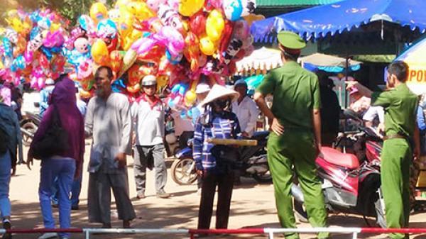 Bình Thuận: An ninh trật tự Lễ hội Dinh Thầy Thím được siết chặt