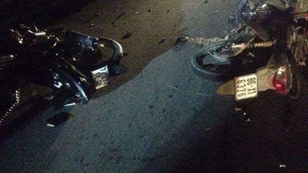 Bình Thuận: Hai xe máy tông nhau, 4 người thương vong