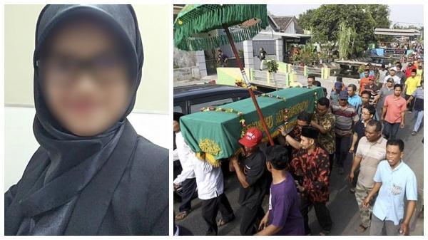 Đám tang cô gái trẻ gặp nạn trong vụ máy bay chở 189 hành khách rơi xuống biển khiến ai cũng đau xót