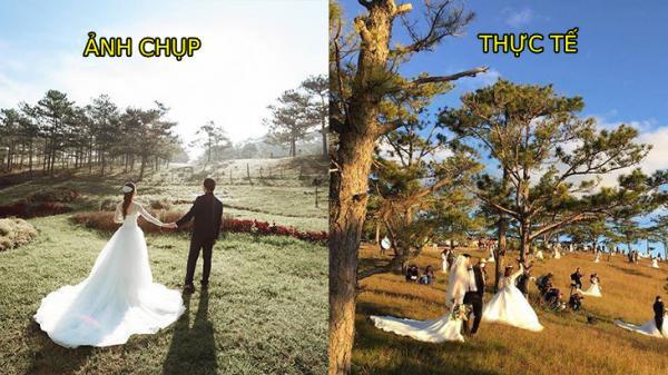 """Khoảnh khắc khiến bạn nhận ra mùa cưới đã đến: """"100 mét đất có 1 nghìn dâu rể"""" trên đồi cỏ hồng Đà Lạt"""