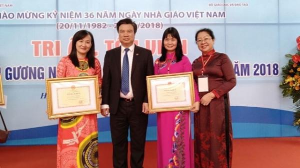 Đồng Nai: Hai giáo viên được tuyên dương Nhà giáo tiêu biểu toàn quốc