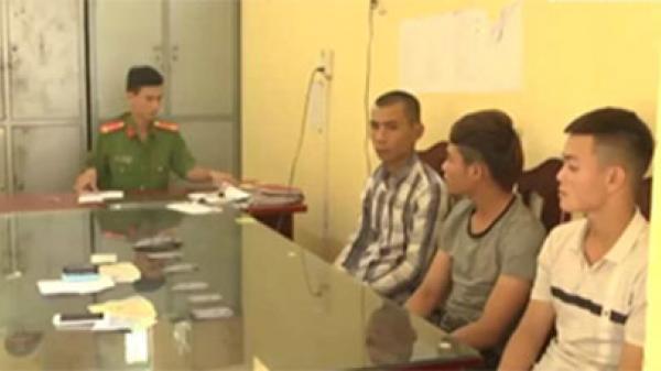 Hàm Tân: Bắt 3 đối tượng cho vay nặng lãi