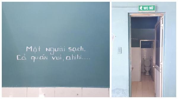 Bật cười với loạt lời nhắn vừa 'bá đạo' vừa hài hước trong nhà vệ sinh của chủ quán cà phê ở Đồng Nai