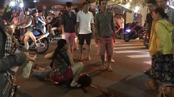 Bình Thuận: Xe môtô đâm vào người đi bộ gây chấn thương sọ não nặng