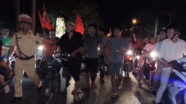 Bình Thuận: Xử lý nhiều quái xế 'đi bão' vi phạm giao thông