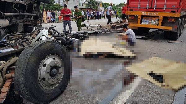 Hiện trường vụ tai nạn 6 người bị xe tải đè ch.ết ở Hải Dương
