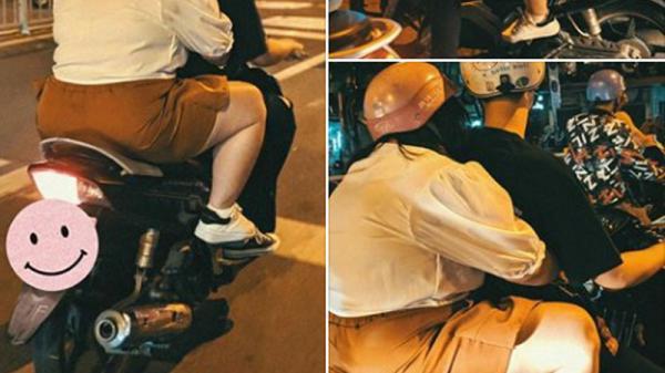 Khoảnh khắc nàng béo ôm người yêu trên phố: Sao cũng được, chỉ cần đó là em