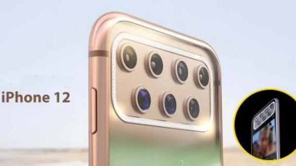iPhone 2020: Xu hướng camera khác biệt với 7 ống kính phía sau lưng
