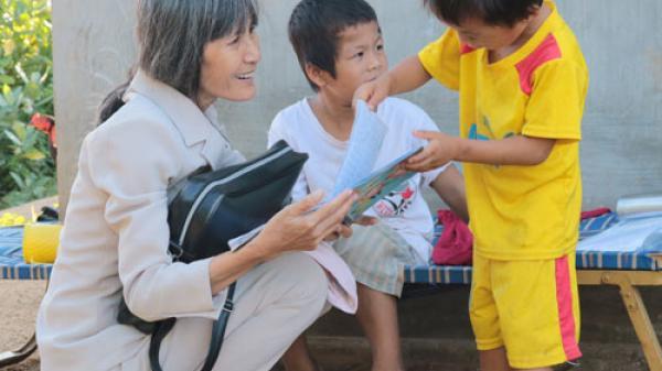 Ninh Thuận: Cô giáo Nhị giàu lòng nhân ái