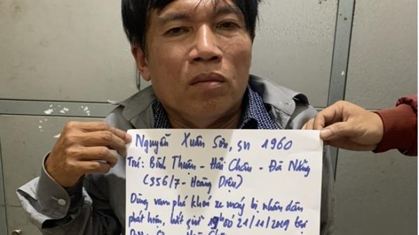 Đà Nẵng: Tên trộm 9 tiền án lại bị bắt khi đang bẻ khóa xe máy