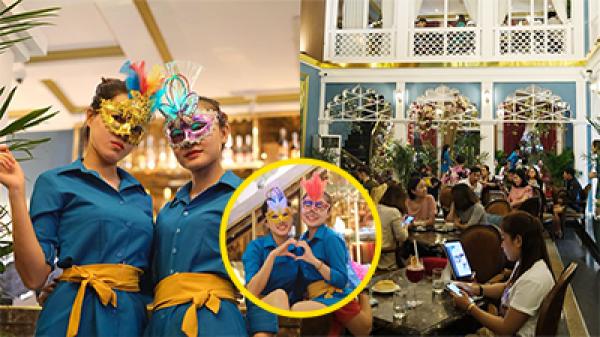 Chi tiền tỷ tuyển hotgirl làm nhân viên, cho nhân viên uống trà sữa tẹt ga, quán café ở Đà Nẵng gây tranh cãi