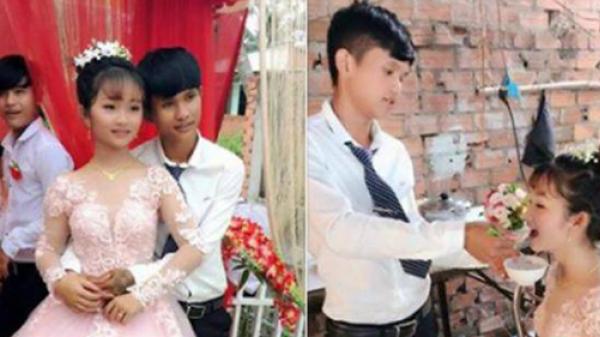 Cặp đôi cô dâu 12, chú rể 14 từng gây bão mạng đã đường ai nấy đi sau lễ đính hôn đình đám 1 năm về trước