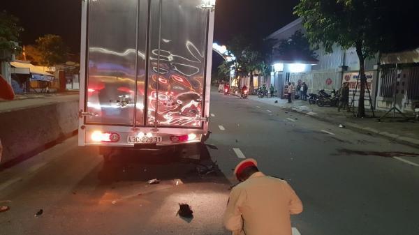 Nam thanh niên tử vong sau va chạm với xe tải ở Đà Nẵng