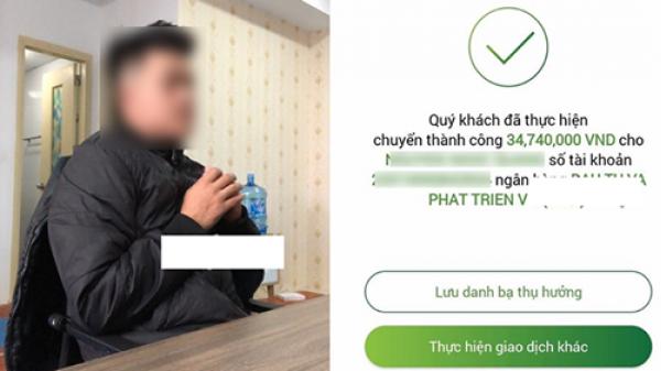 Thanh niên 'cắm' xe máy của bố lấy tiền cho bạn gái sắm Tết, vừa chuyển khoản thì điện thoại 'thuê bao'?