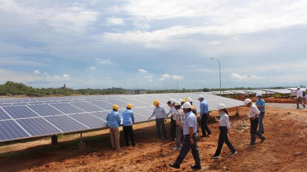 Ninh Thuận: Nhà máy điện mặt trời Phước Thái 1 chính thức được nghiệm thu đưa vào sử dụng