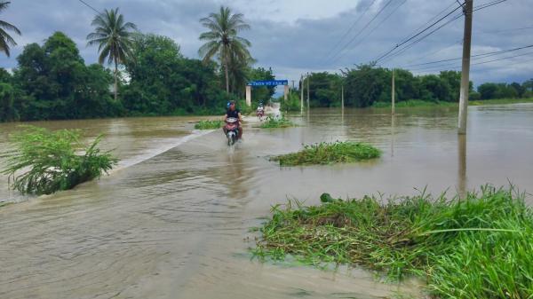 Ninh Thuận cảnh báo lũ khẩn cấp