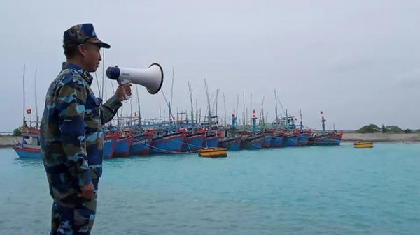 Áp thấp khả năng mạnh thành bão, hướng vào Phú Yên - Ninh Thuận