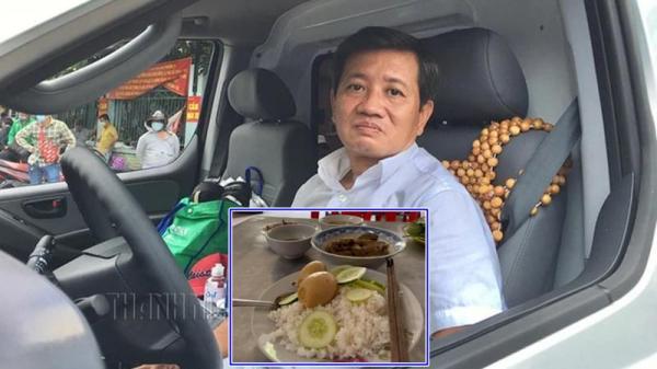 """Ông Đoàn Ngọc Hải ghé quán cơm nhưng một tài xế đã """"tranh"""" trả tiền bữa ăn"""