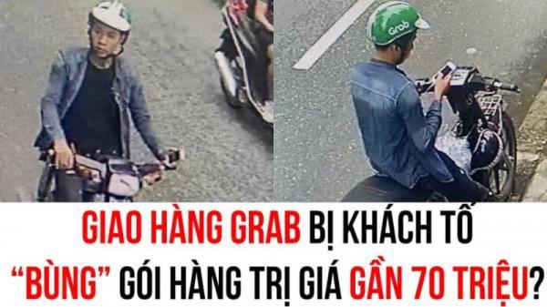 """Xôn xao thông tin tài xế Grab đi xe máy BKS Thái Bình bị khách tố """"bùng gói hàng"""" trị giá gần 70 triệu đồng"""