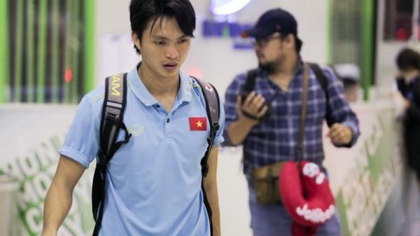 Tuấn Anh quê Thái Bình CHÍNH THỨC lên tiếng sau chấn thương đùi ở trận gặp Malaysia