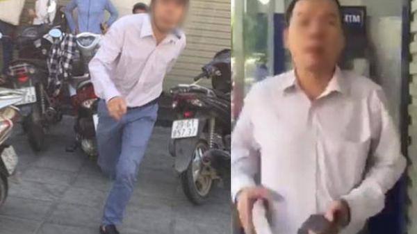 """Nạn nhân bị người đàn ông quê Thái Bình đ ánh tại cây ATM: """"Trong cuộc sống ai cũng có lúc nóng, tôi không muốn to chuyện"""""""