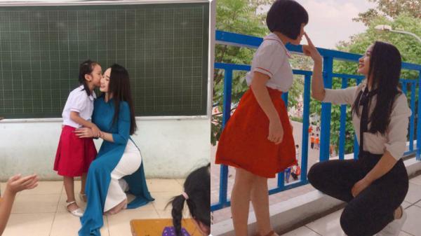 """Cận chân dung cô giáo quê Thái Bình """"xinh như hot girl"""" được CĐM săn lùng, khen ngợi hết lời"""