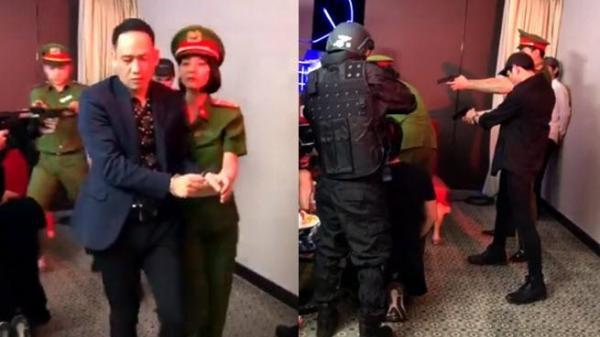 Thực hư clip ca sĩ nổi tiếng Duy Mạnh bị nữ công an trẻ đẹp bắt