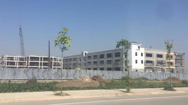 Thái Bình: Phát hiện Công ty Firstunion xây công trình đồ sộ không phép?