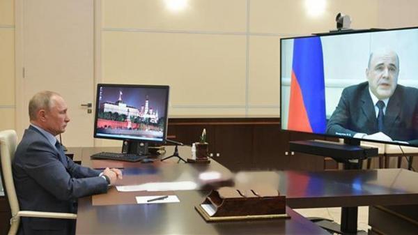 Thủ tướng Nga Mikhail Mishustin phải tạm rời cương vị vì mắc Covid-19, ông Putin chỉ định quyền thủ tướng