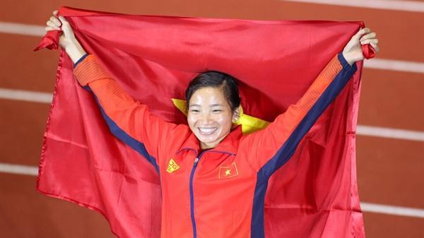 Nguyễn Thị Oanh là VĐV tiêu biểu của Việt Nam 2019