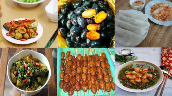 Quê của Hà Đức Chinh không có muối, nhưng có rất nhiều món ăn siêu lạ như thế này