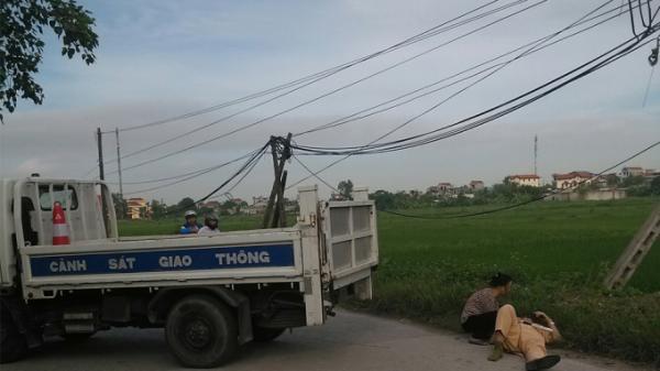 Phú Thọ: Một Trung tá CSGT tử vong do bị xe đâm khi làm nhiệm vụ