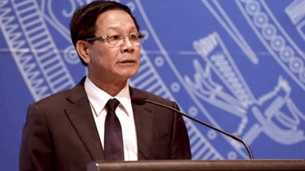 Cơ quan An ninh điều tra (Công an tỉnh Phú Thọ) khởi tố nguyên Tổng cục trưởng Tổng cục Cảnh sát Phan Văn Vĩnh