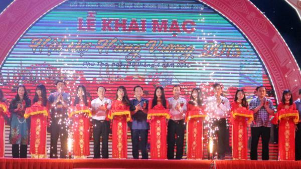 Khai mạc Hội chợ Hùng Vương năm 2018
