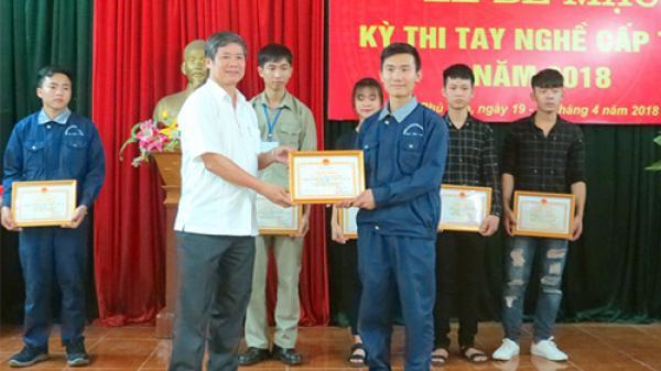 Phú Thọ: 6 thí sinh đạt giải nhất tại Kỳ thi tay nghề năm 2018