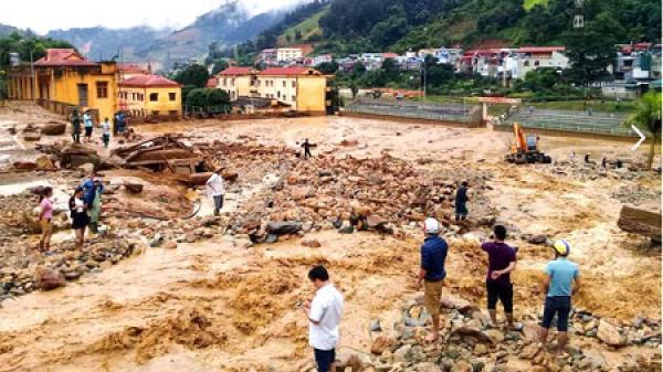 34 người chết, mất tích do mưa lũ